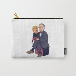 Funny ventriloquist dummy Carry-All Pouch