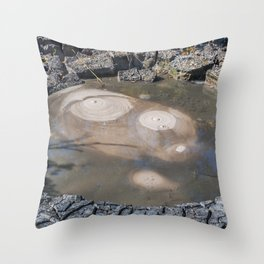 Smile of the Earth Throw Pillow