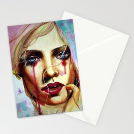 Scarlet (VIDEO IN DESCRIPTION!) Stationery Cards