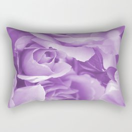 Violet Rose Bouquet For You - Valentine's Day #decor #society6 #homedecor Rectangular Pillow
