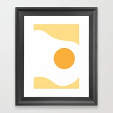 #2 Egg Framed Art Print