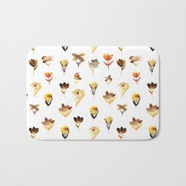 The beauty of dry flowers Bath Mat