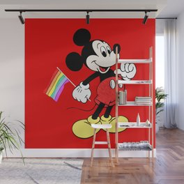 Mickey Mouse - Gay Pride - Gay Days - Pop Art Wall Mural