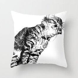 Whisker Dreams Throw Pillow