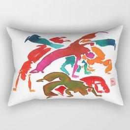 Capoeira 243 Rectangular Pillow
