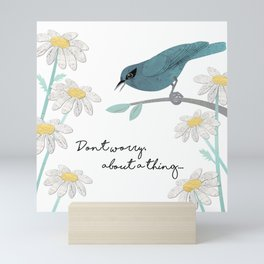 Three Little Birds, Part 1 Mini Art Print