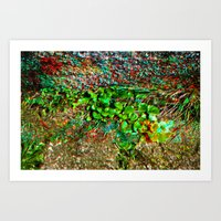 plant Art Prints featuring plant by ebdesign