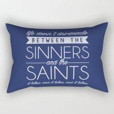 Life Doesn't Discriminate Rectangular Pillow