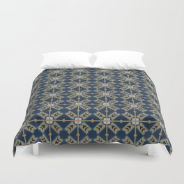 Luxury Spanish Tile - Pattern Duvet Cover