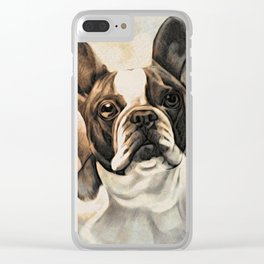Bulldogs Clear iPhone Case