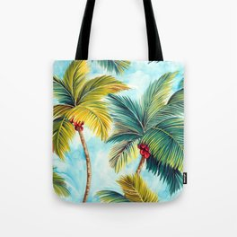 Palm Tree Allover Tote Bag
