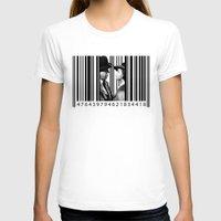 casablanca T-shirts featuring Inside a Barcode. by Luigi Tarini