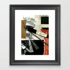 Record Framed Art Print