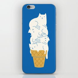 Cats Ice Cream iPhone Skin