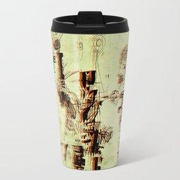 Illustration Mashup Travel Mug