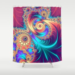 Tuned In, Turned On Shower Curtain