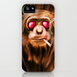 I Win Ape iPhone Case