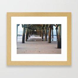 Apache Pier Framed Art Print