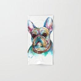 French Bulldog Hand & Bath Towel