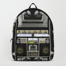 Retro Box Classic Cassette Backpack