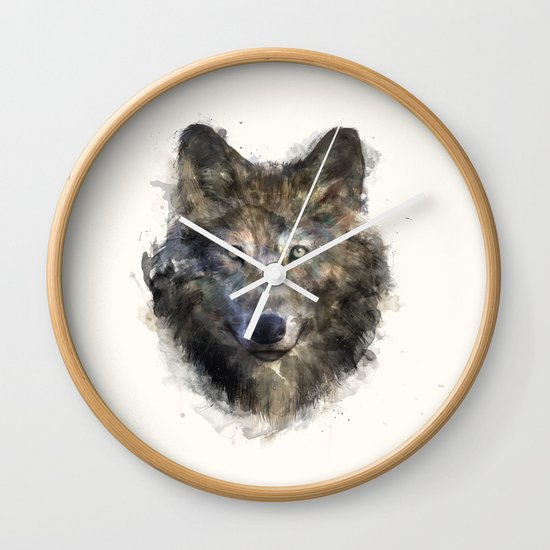 Wolf // Secure Wall Clock