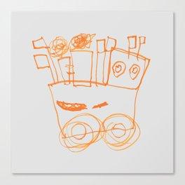 Ben's Monster Trucks no.2 Canvas Print