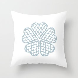 The Waffle Throw Pillow