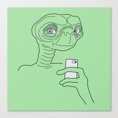 Selfie.t. Canvas Print