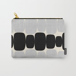 Abstraction_Balance_ROCKS_BLACK_WHITE_Minimalism_001 Carry-All Pouch