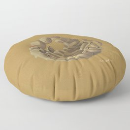 Scorpio (ocher) Floor Pillow