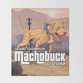 Grand Champion Machobuck ROM Throw Blanket