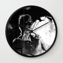 Like tears in rain... - PRIS version Wall Clock
