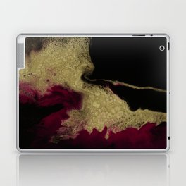 Black Honey - resin abstract painting Laptop & iPad Skin