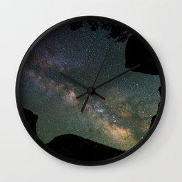 Galaxy Gazing Wall Clock