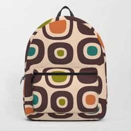 Mid Century Modern Garden Path Pattern 324 Backpack