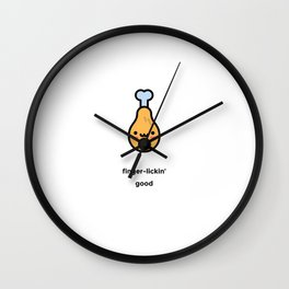JUST A PUNNY FRIED CHICKEN JOKE! Wall Clock