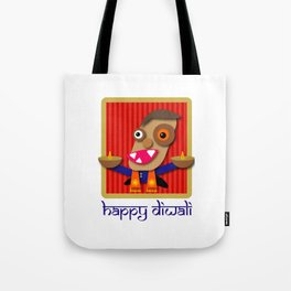 Happy Diwali Festival of Lights Tote Bag
