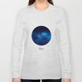 Orion Constellation Dark blue night Long Sleeve T-shirt