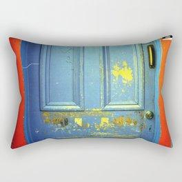 Primary Colors Door Rectangular Pillow