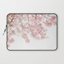 Pink Blooming Cherry Trees Laptop Sleeve