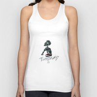 techno Tank Tops featuring Techno Zombies by Hollow