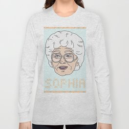 Sophia Portrait Long Sleeve T-shirt
