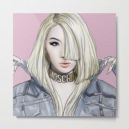 Barbiedoll Metal Print
