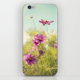 summer cosmos iPhone Skin