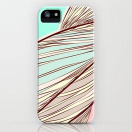 hair lines iPhone Case