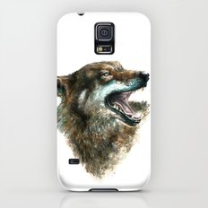 Wolf smile Galaxy S5 Slim Case