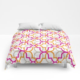 Moroccan Trellis Overlaps Comforters
