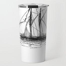 Vintage Yacht Travel Mug