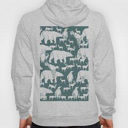 Polar gathering (emerald) Hoody