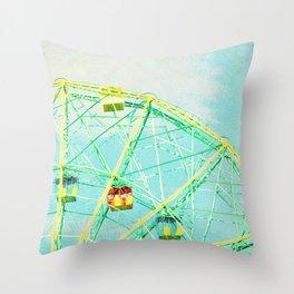 Wonder Wheel Throw Pillow
